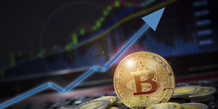 Bitcoin soars to reach $8000